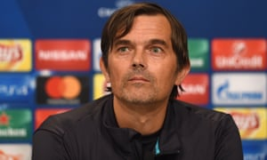 Phillip Cocu, pictured during his time as PSV Eindhoven's coach, has been out of work since October.