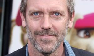 'Engaging': Hugh Laurie
