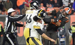 Shocking Brawl Mars Cleveland Browns Tense Win Over