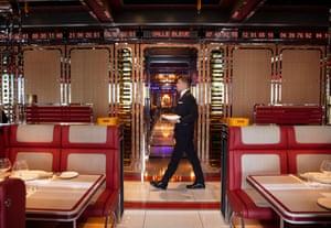 Bob Bob Cité, London: 'like having dinner on the bridge of the Starship Enterprise'.