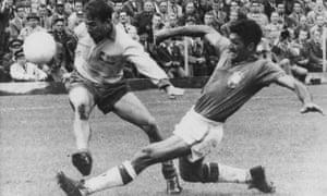 Nilton Santos, Brazil v Sweden, 1958 World Cup