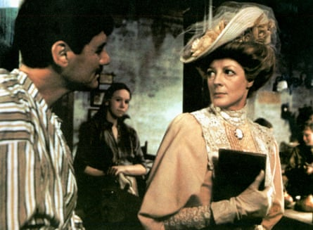 Sexually voracious … Smith angles for a night of passion with a vicar (Michael Palin) in The Missionary.