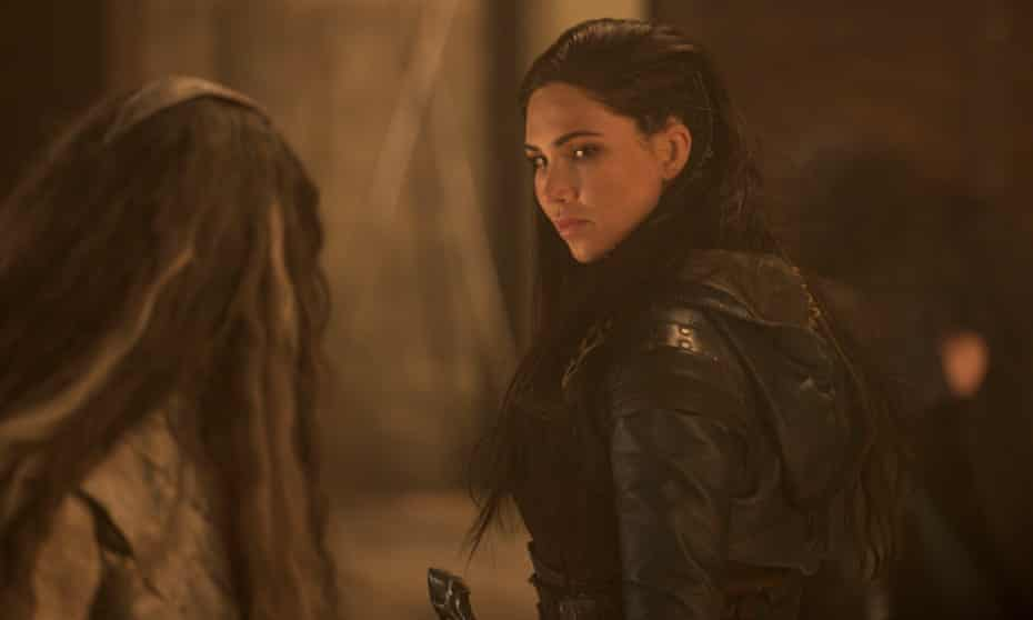 Jessica Green as Talon in The Outpost.