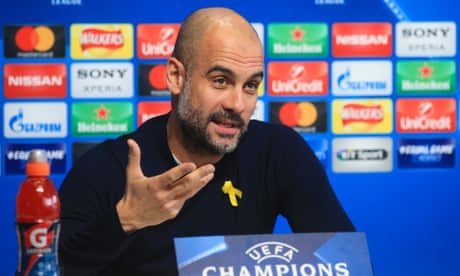 Pep Guardiola: 'Manchester City have only won one title' – video