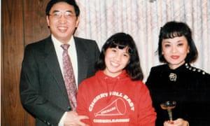 Angela Duckworth with her parents.