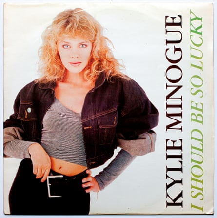 Kylie Minogue … A pop legend is launched in the UK in December 1987.