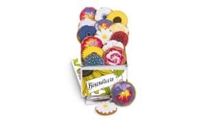 Hand iced biscuit gift tin, £39.50biscuiteers.com