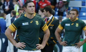 South Africa's shock defeat to Japan was immediately followed by an apology from the team's head coach Heyneke Meyer.