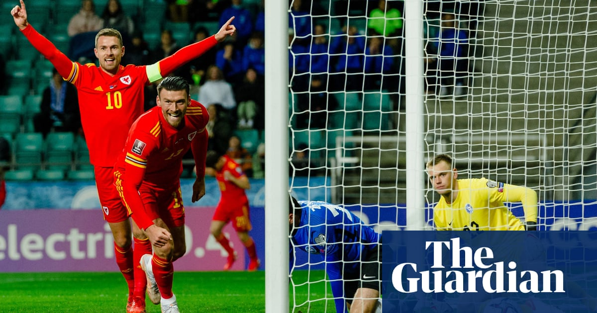 Kieffer Moore fires Wales to win over Estonia to boost World Cup play-off bid