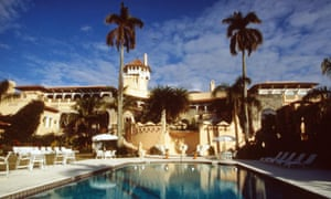 Donald Trump's residence in Palm Beach, Mar-a-Lago.