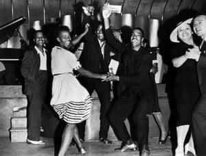 Jitterbugging in Harlem in the 1930s