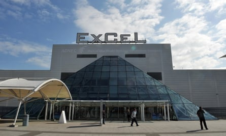A general view of the ExCel centre in East London
