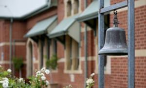 A school bell at a primary school