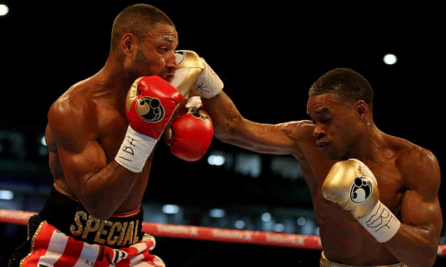 Kell Brook lost his IBF welterweight title to Errol Spence Jr after an 11th-round stoppage in front of his home crowd at Bramall Lane in Sheffield.