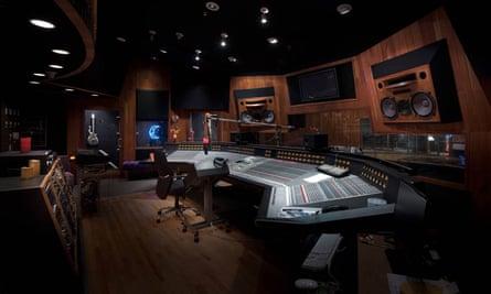 Prince's recording studio.