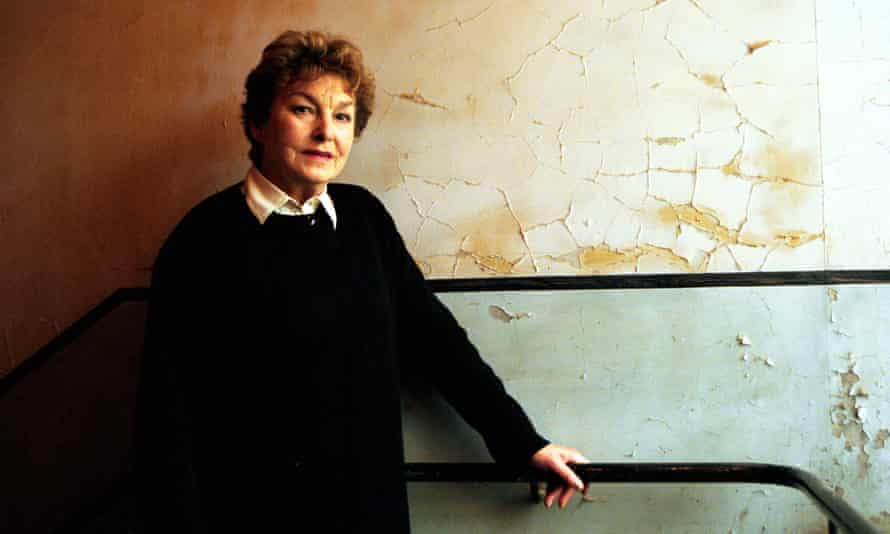 Barbara Jefford in 2000 at Gainsborough Studios, London, where she appeared in the Almeida's productions of Richard II and Coriolanus.