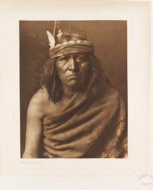 Apache tribe member.