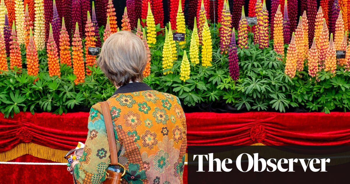 Chelsea Flower Show is late this year…