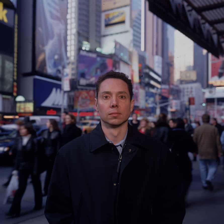 Gladwell in Times Square in 2000, the year his debut book, the bestselling The Tipping Point, was published.