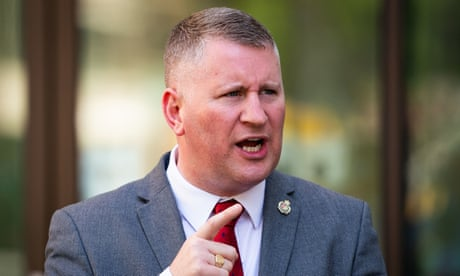 Britain First leader Paul Golding convicted under terrorism law
