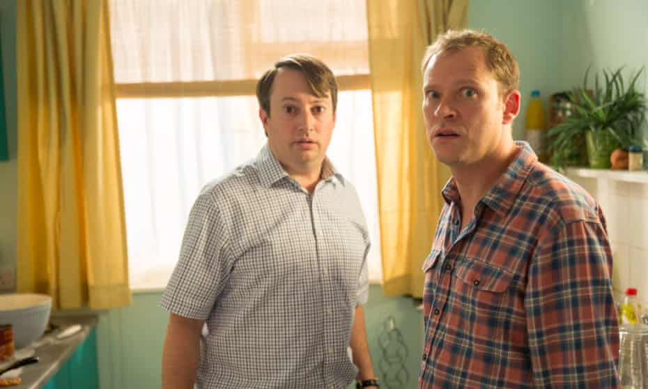 Mark and Jez from Peep Show