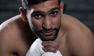 Amir Khan, who fights Terence Crawford on 20 April