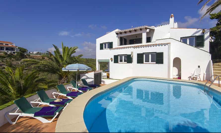 Casa Sueños villa, Menorca.