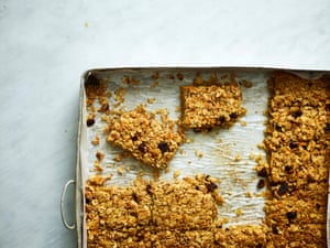 Like a carrot cake, but chewier and crunchier.