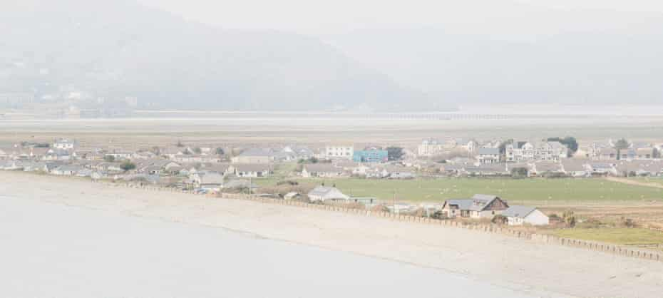 Fairbourne village in north Wales, May 2019