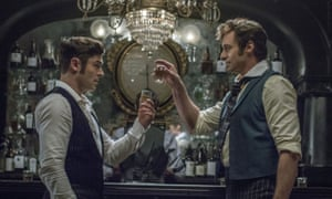 Zac Efron and Hugh Jackman in The Greatest Showman.
