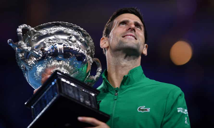 Novak Djokovic started the 2020 season with victory at the Australian Open.