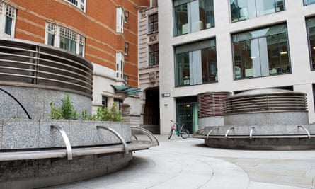 Where abolition began … George Yard in the City of London.