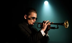 'He arrived at the right time – but four days late' … Ethan Hawke as Chet Baker in Born to Be Blue.