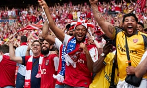 Arsenal fans were among those whose health improved by taking part in the EuroFIT programme.