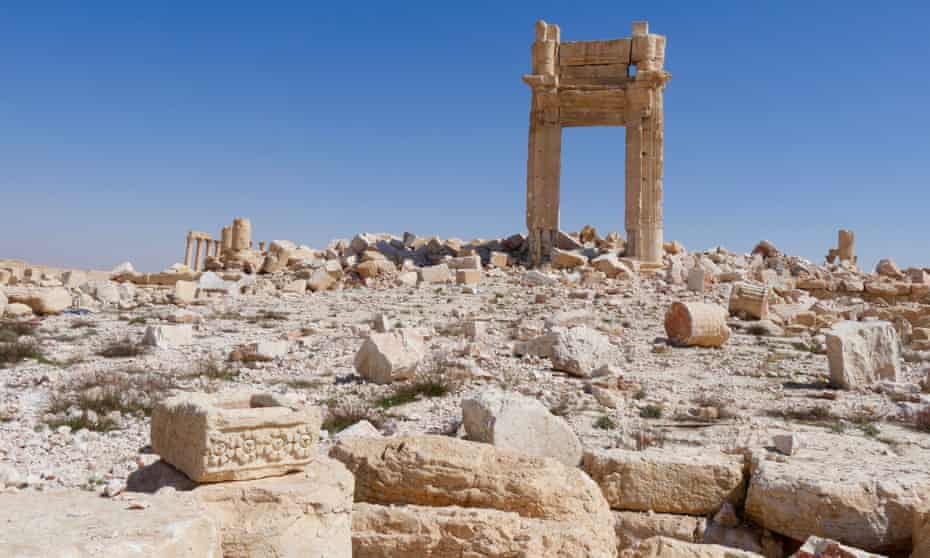 Islamic State destroyed the Temple of Bel in Palmyra, Syria.