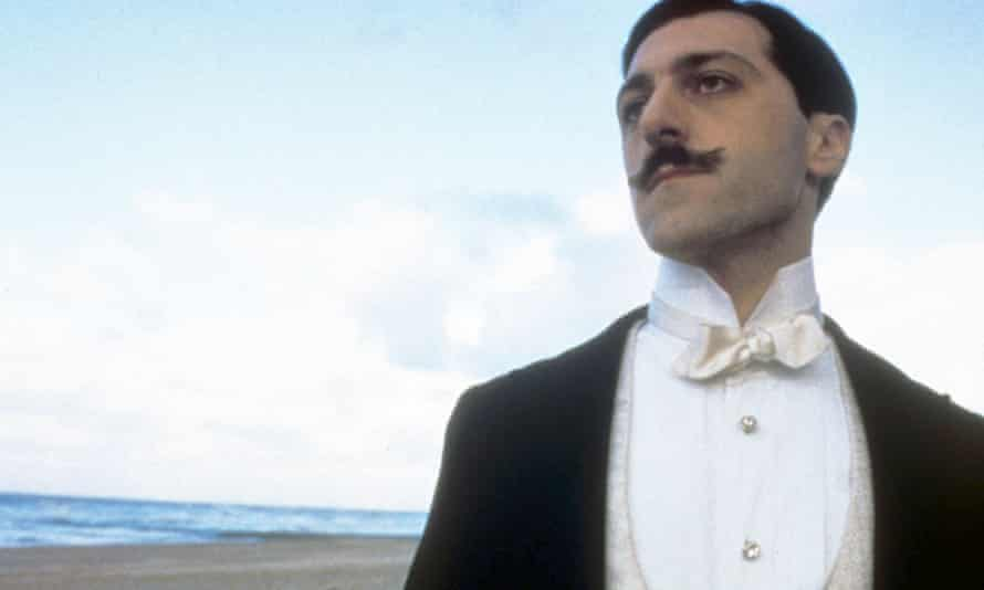 Marcello Mazzarrella as Marcel in Time Regained (1999).