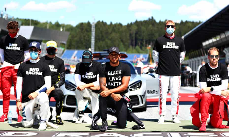 Lewis Hamilton has made a strong personal commitment to countering racial inequality within and outside F1.