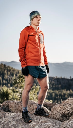 Ultra runner Zach Miller in the Colorado Rockies