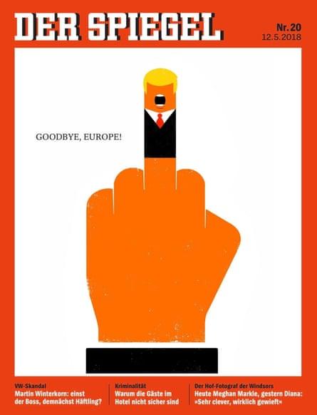 Der Spiegel: Goodbye Europe.