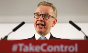Michael Gove is responsible for designing the UK's post-Brexit environmental watchdog.