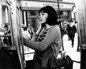 Anna Karina as Hélène in the romantic comedy, All About Loving