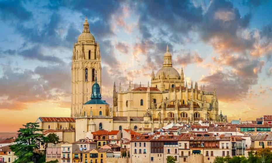 Catedral de Santa María de Segovia, Castilla y Lyon, España