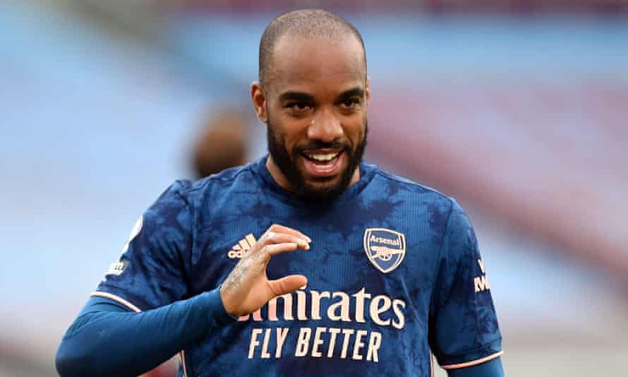 Alexandre Lacazette has started the past two Arsenal games, scoring a match-winning penalty against Spurs and a dramatic equaliser at West Ham.