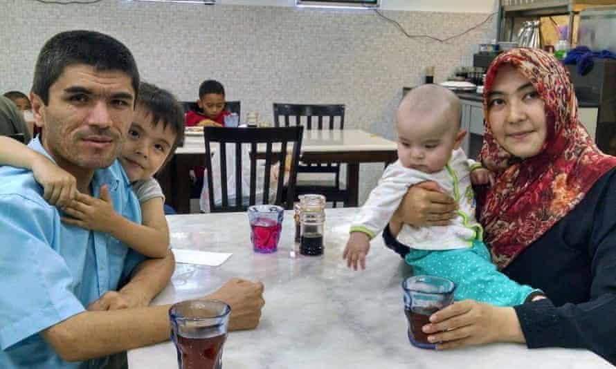 Mamutjan Abdurehim and his family