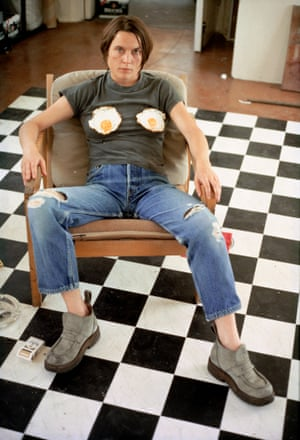 Self Portrait with Fried Eggs by Sarah Lucas, 1996.