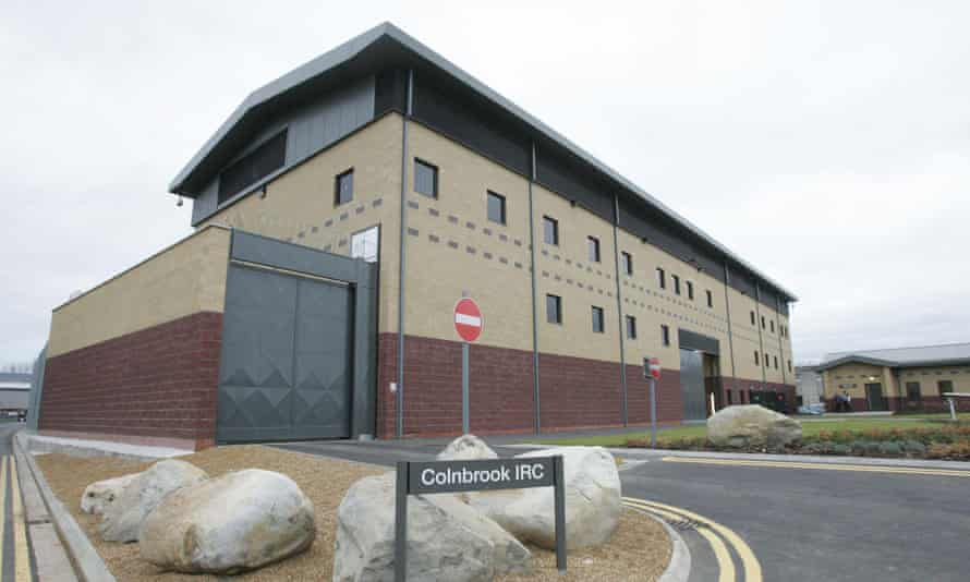 Colnbrook immigration removal centre, where Tarek Chowdhury was killed.