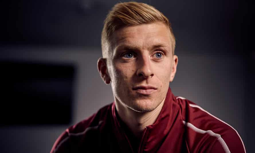 Burnley's captain Ben Mee. 'As a group we just wanted to do something positive.'