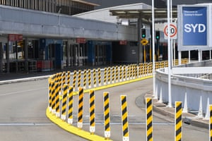 The international departures area at Sydney's Kingsford Smith airport earlier this year