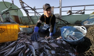 Fukushima fisherman Fumio Suzuki