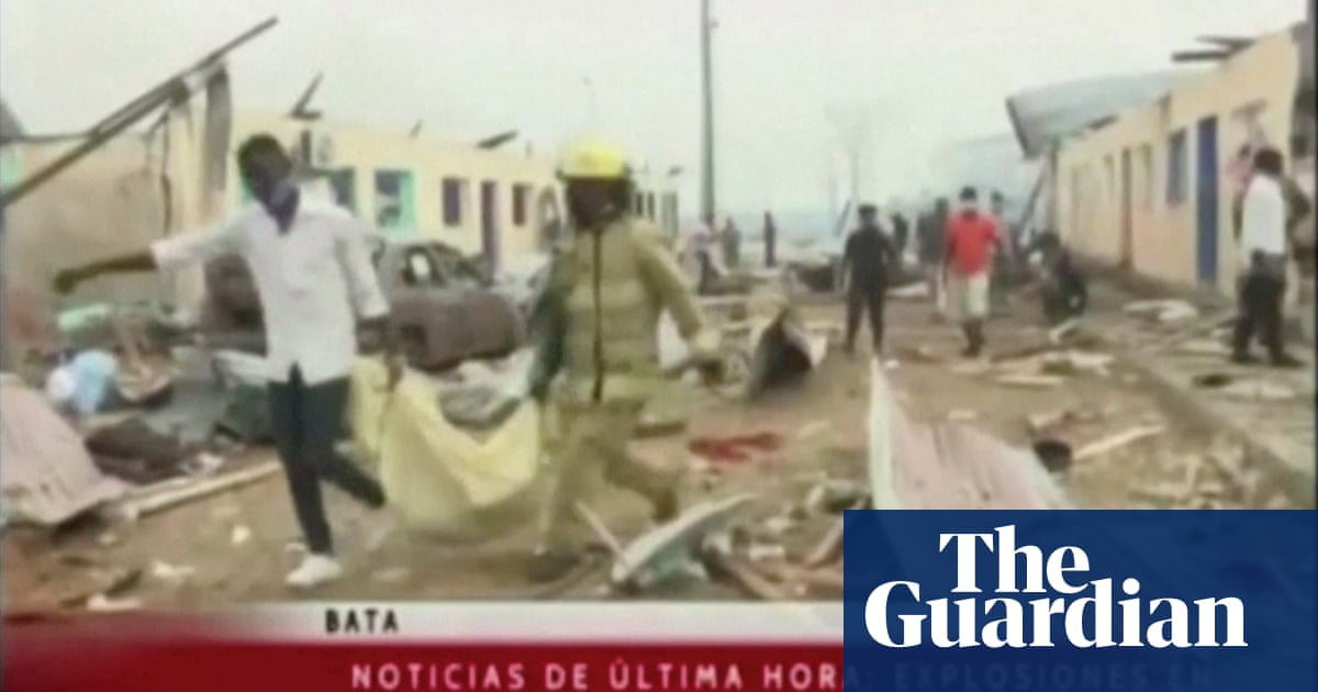 At least 20 killed in explosions at barracks in Equatorial Guinea